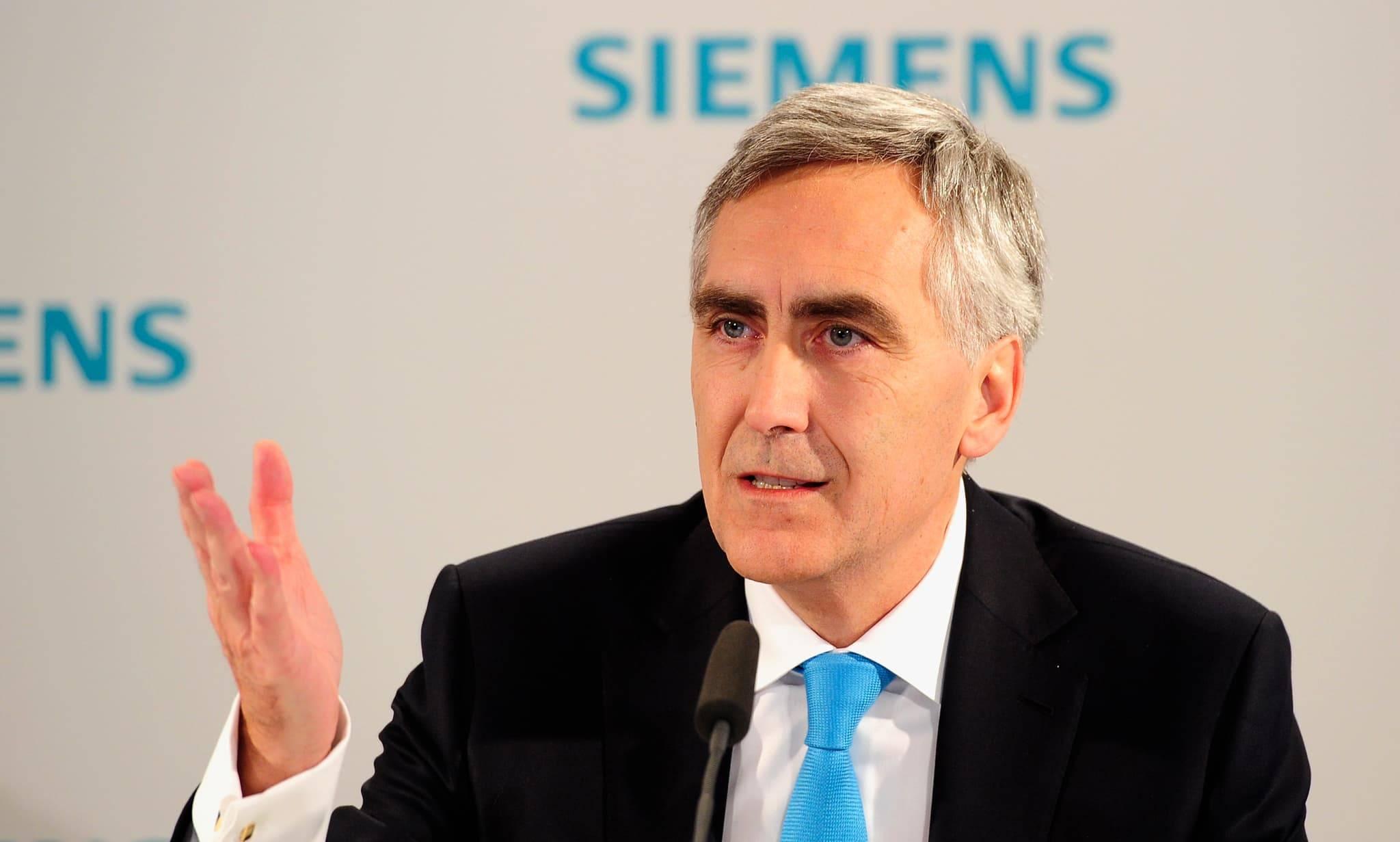 Επιστολή στον πρόεδρο της Siemens